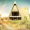 Random Picture of the Week #79: Abandoned A-Frame House in Jack County, Texas