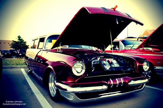 1955 Pontiac Safari - Lomography effect