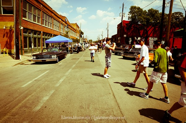 Invasion Car Show Deep Ellum